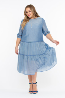 """Платье """"Шейла"""" Intikoma (Голубой)"""